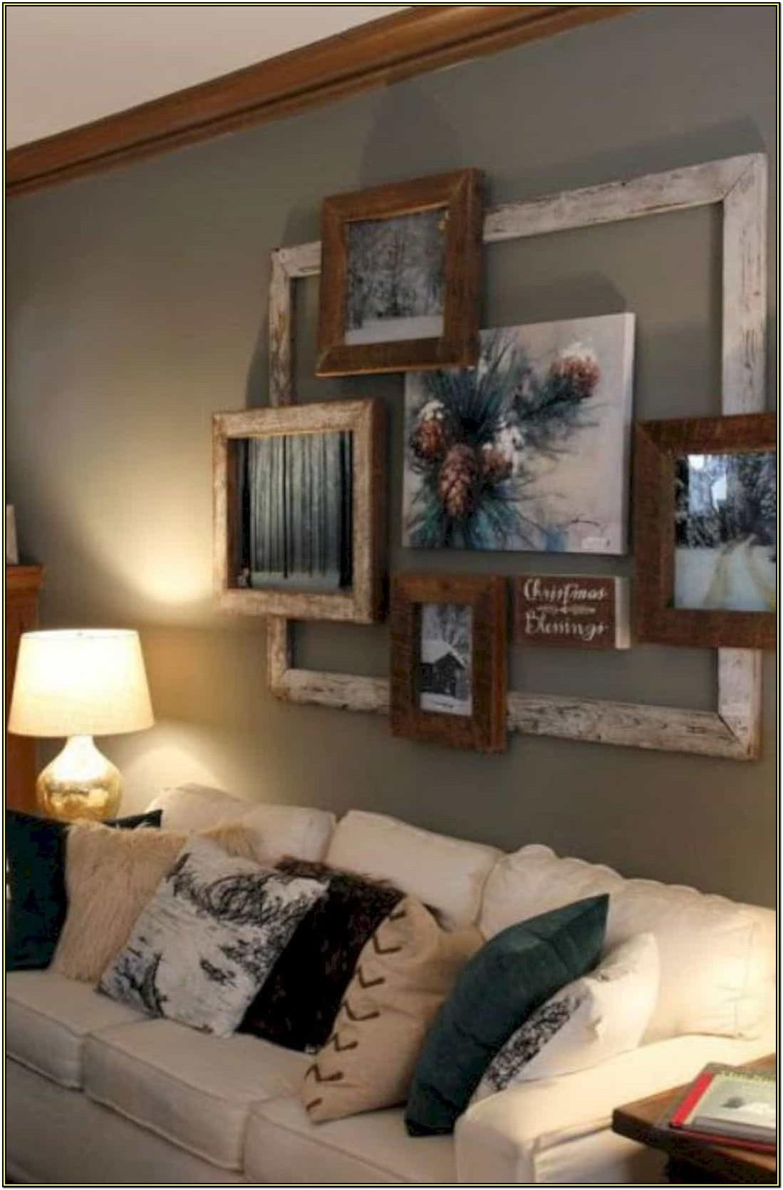 Rustic Living Room Wall Decor Ideas