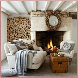 Rustic Simple Living Room Decor Ideas