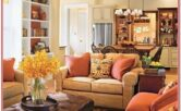 Sample Decorated Living Room
