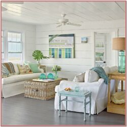 Seaside Cottage Living Room Decor