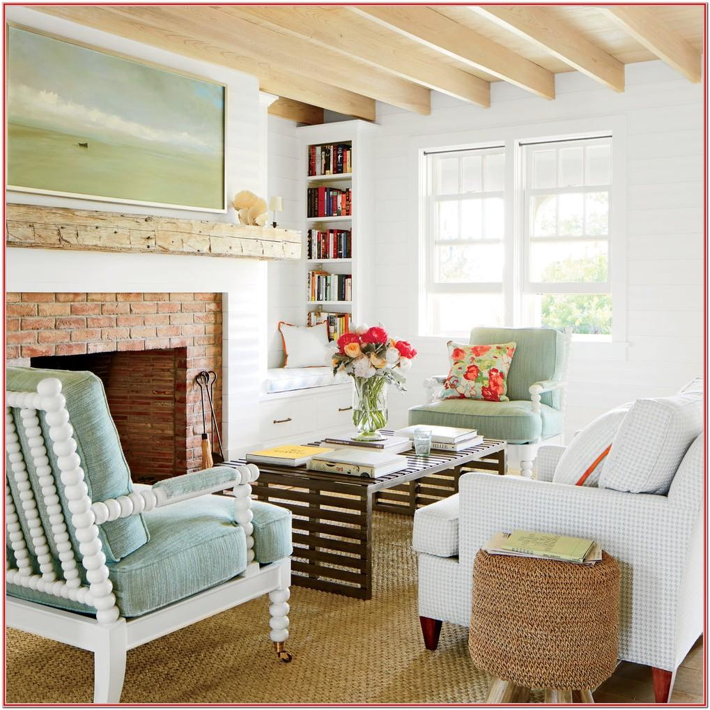 Shiplap Living Room Decorating Ideas