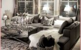 Silver And Gold Farmhouse Decor Living Room
