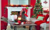 Simple Christmas Decorations Ideas For Living Room