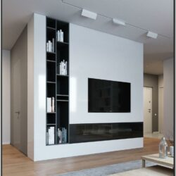 Simple Living Room Cabinet Design Ideas