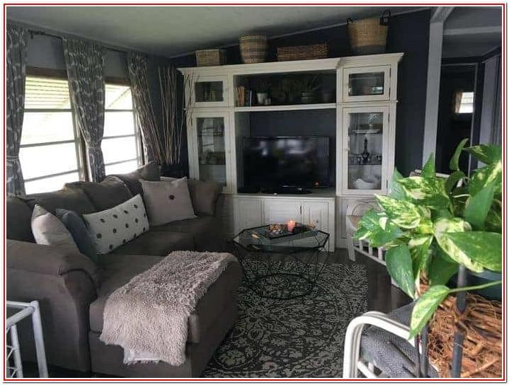 Single Wide Mobile Home Living Room Decor