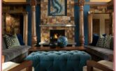 Slate Blue Living Room Decor