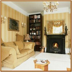 Small Brown And Gold Living Room Decor