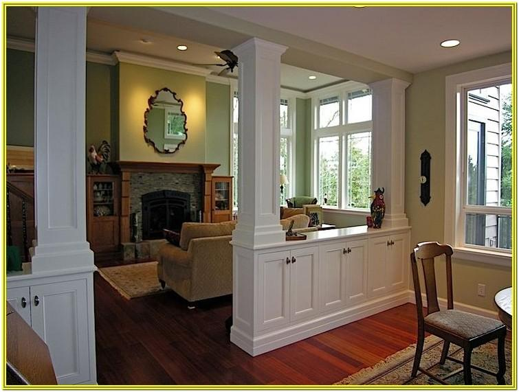 Small Dining And Living Room Divider Ideas