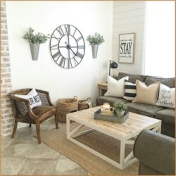 Small Farmhouse Living Room Wall Decor
