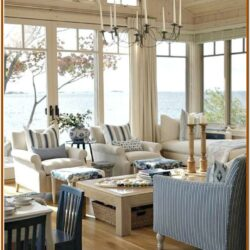 Small Island Bungalow Living Room Decor