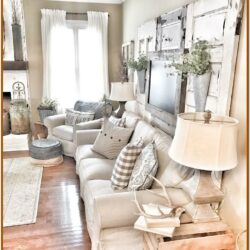 Small Living Room Farmhouse Decor