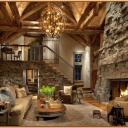 Small Stone Living Room Decorating Ideas