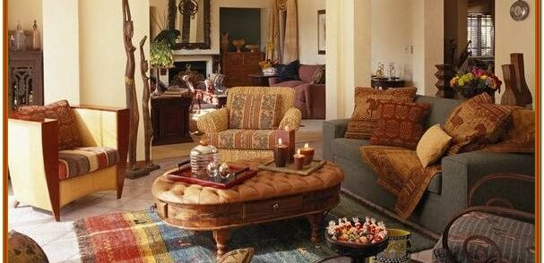Southwest Living Room Decorating Ideas