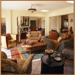 Southwestern Living Room Wall Decor