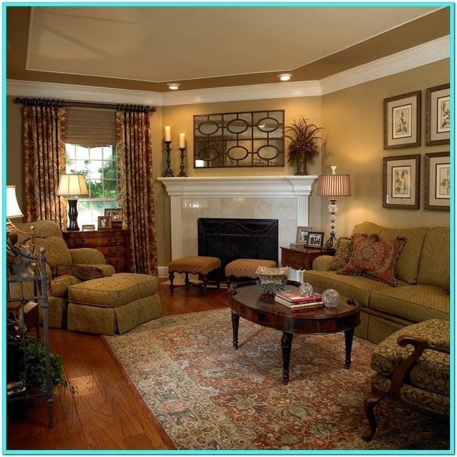 Traditional Living Room Decorating Pictures