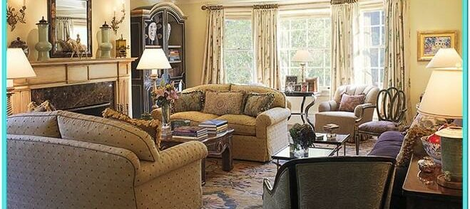 Traditional Style Decorating Living Room