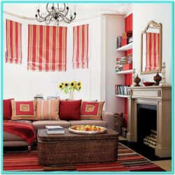 Turquoise And Orange Living Room Decor