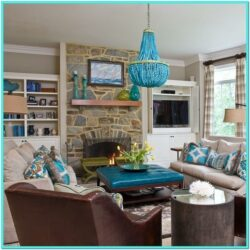 Turquoise Living Room Decorating Ideas