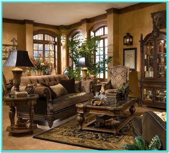 Tuscan Decor And Living Room Furniture