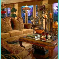 Tuscan Style Living Room Decorating Ideas