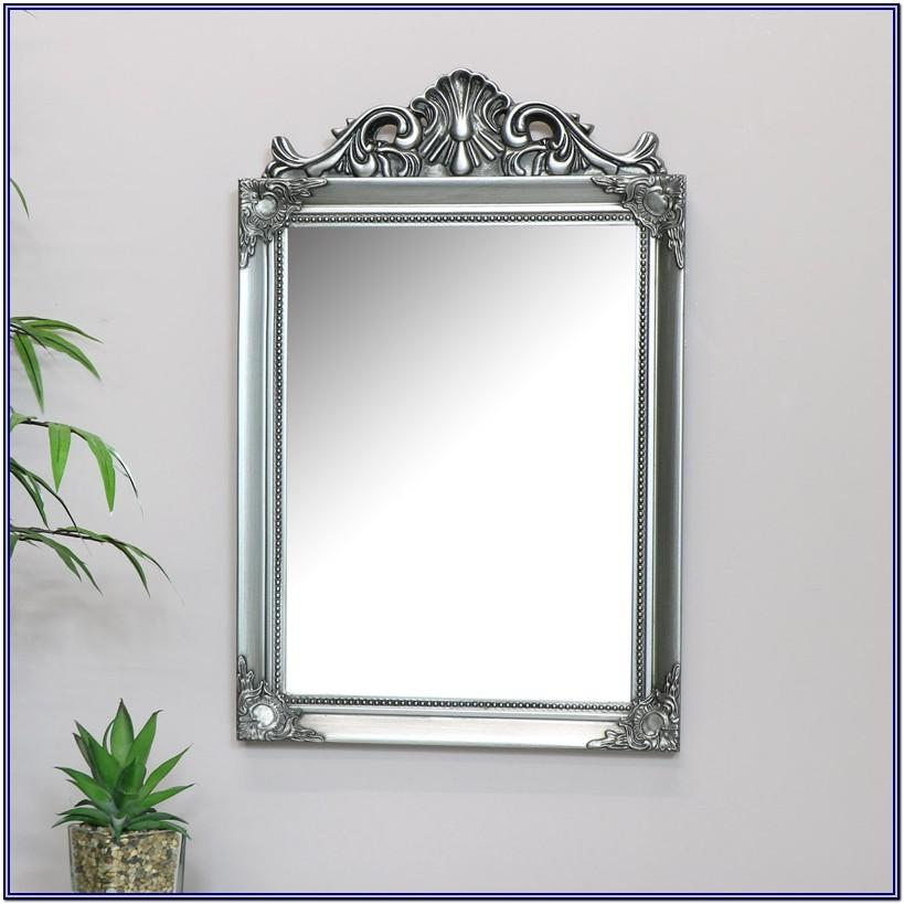 Wall Mount Antique Mirror Living Room Decor