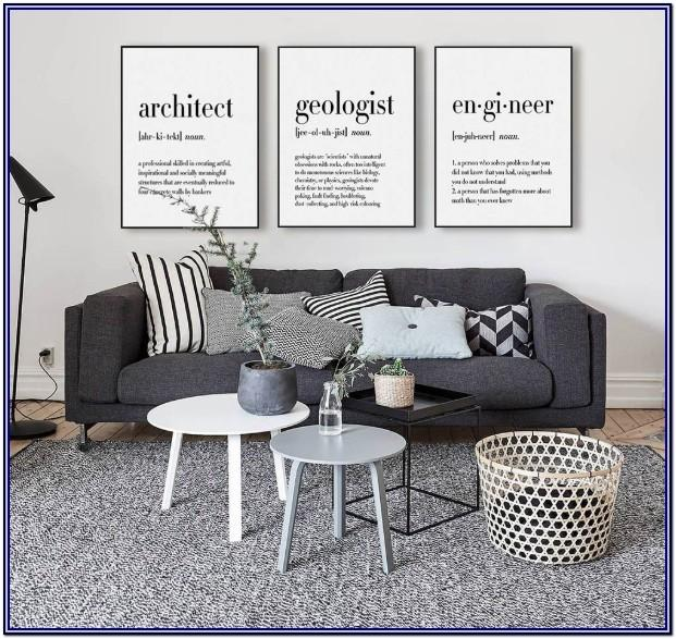 Wall Quote Living Room Decor