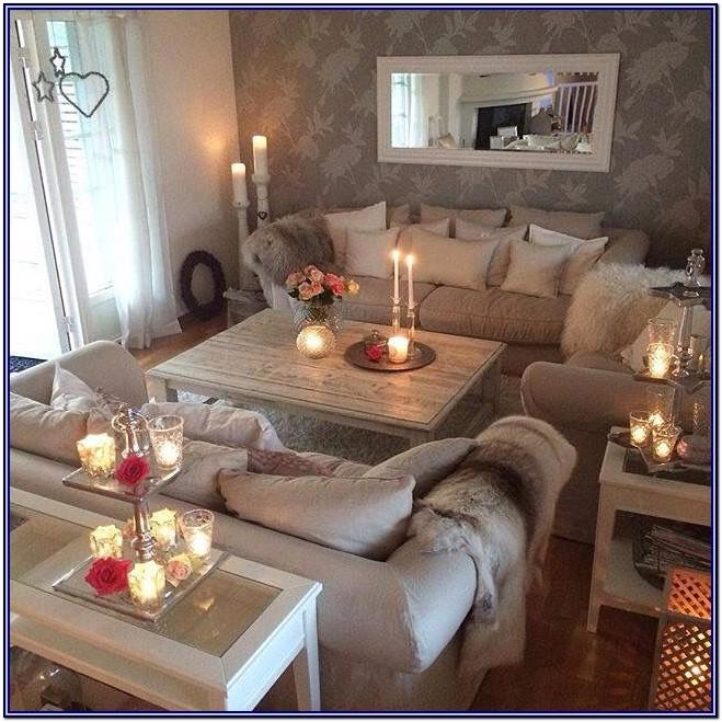 Warm Cosy Living Room Decor
