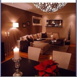 Warm Cozy Living Room Decor
