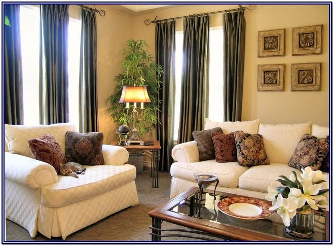 Warm Living Room Decor