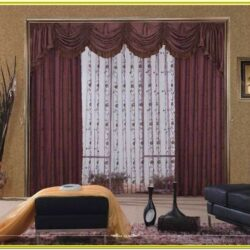 Window Living Room Decorative Curtain Curtain Designs