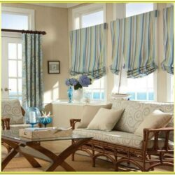 Window Valance Ideas Living Room 1
