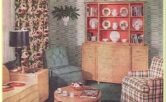 1940 Two Bedroom House Living Room Ideas