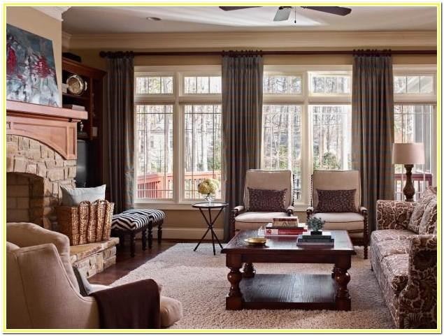 2017 Warm Tone Living Room Ideas