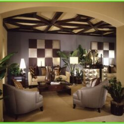 60 Living Room Ceiling Ideas 1