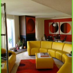 70s Inspired Living Room Style Ideas