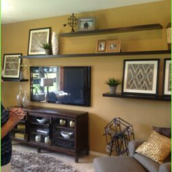 8 Ft Floating Shelves Ideas Living Room Scaled