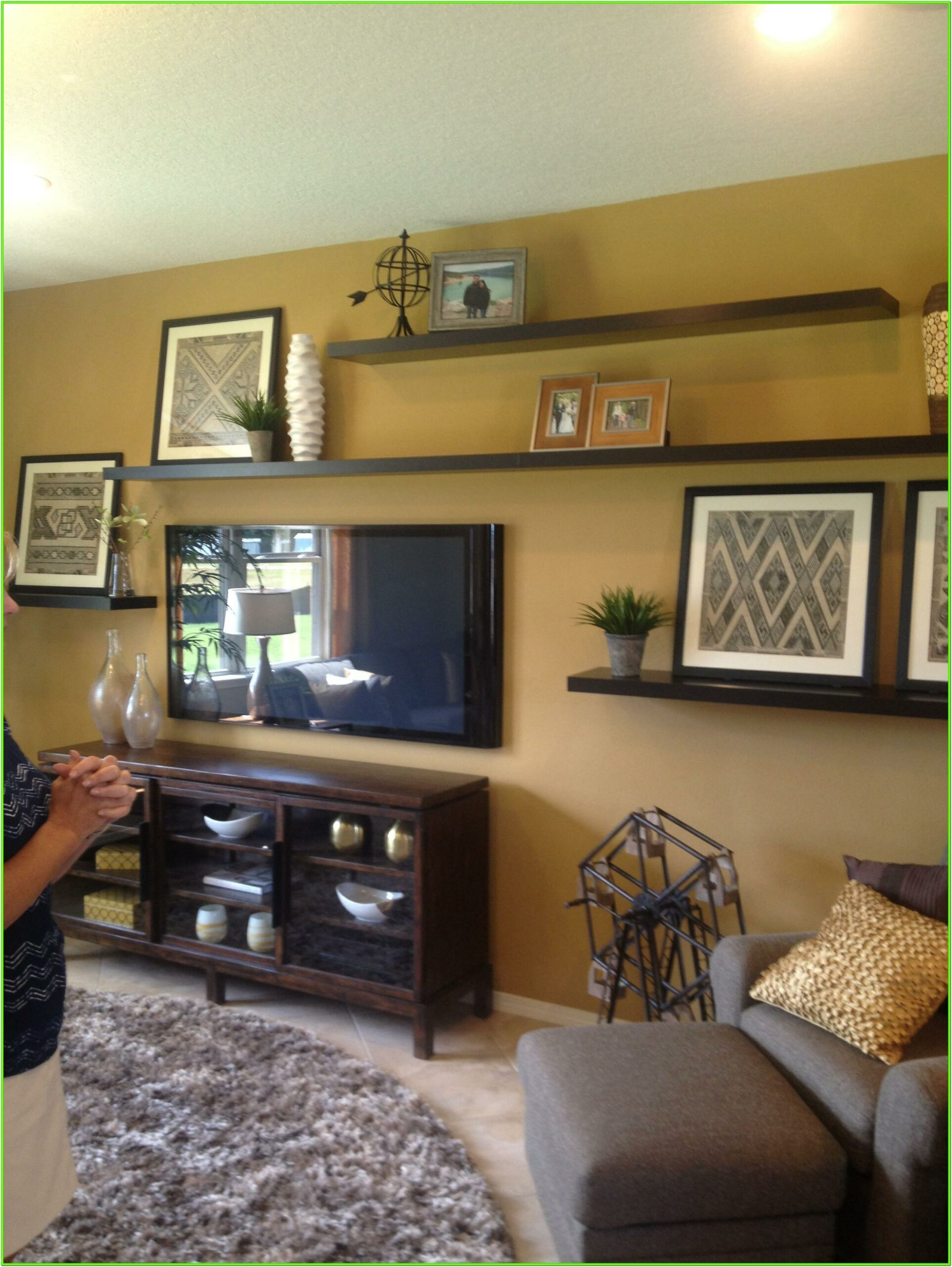 8 Ft Floating Shelves Ideas Living Room