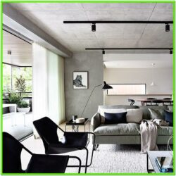Achromatic Living Room Ideas