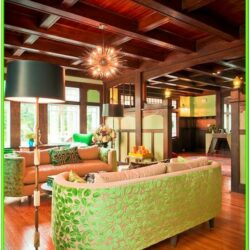 American Foursquare Living Room Ideas