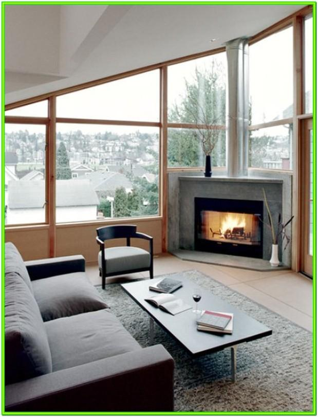 Angled Modern Living Room Layout Ideas