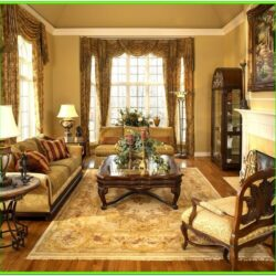 Antique Style Relaxed Living Room Ideas