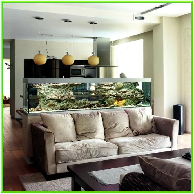 Aquarium In Living Room Ideas