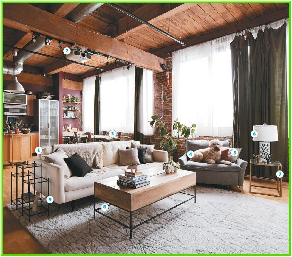 Attic Living Room Makeover Ideas