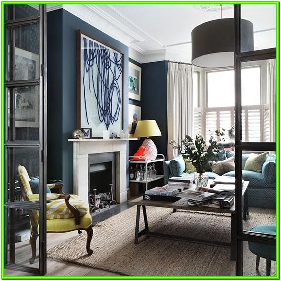 Autumn Living Room Ideas Navy Blue