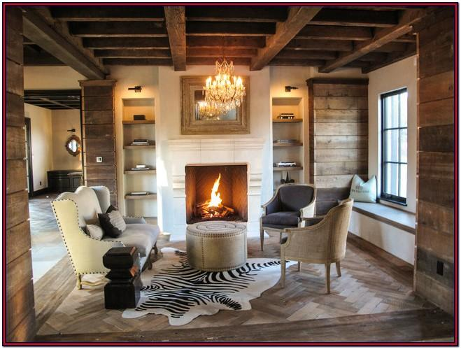 Barnwood Living Room Ideas