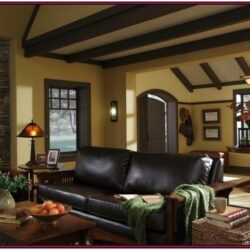 Basement Living Room Ideas Wood Trim 1