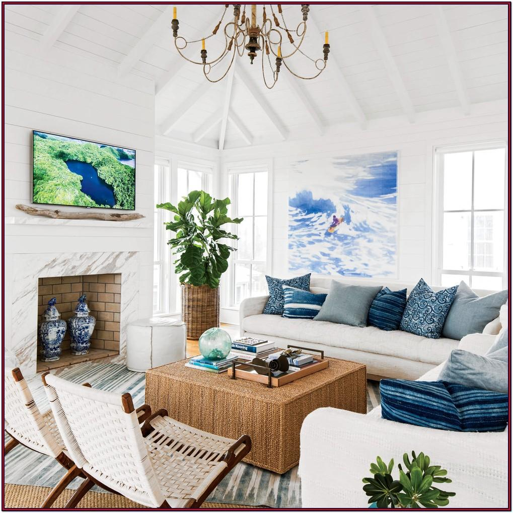 Beach Home Living Room Ideas