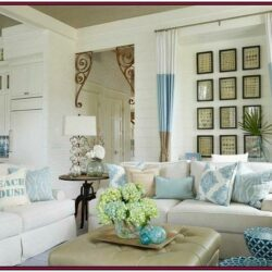 Beach House Ideas White Living Room