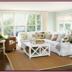 Beach Themed Living Room Decorating Ideas