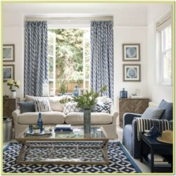 Beige And Navy Blue Living Room Ideas 1